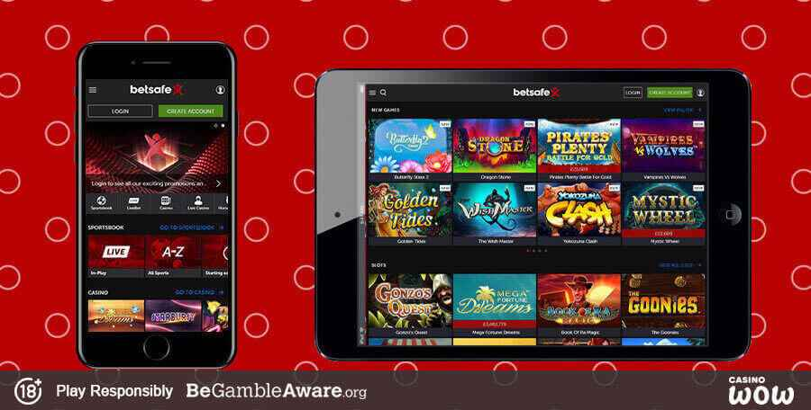 Betsafe Mobile Casino