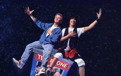 Bill & Ted's Excellent Adventure new online slot by IGT