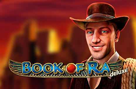 Spin the reels of Book of Ra Deluxe slot game