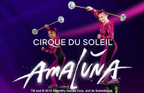 Play Cirque Du Soleil Amaluna online slot game