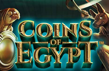 Play Coins of Egypt online slot game