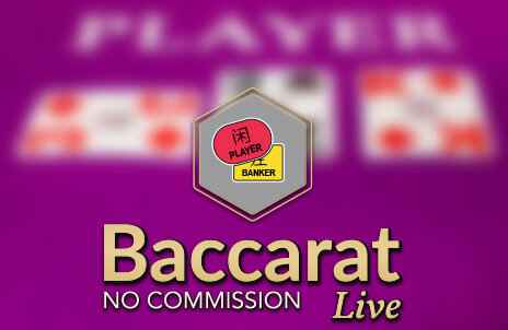 Play No Commission Baccarat online