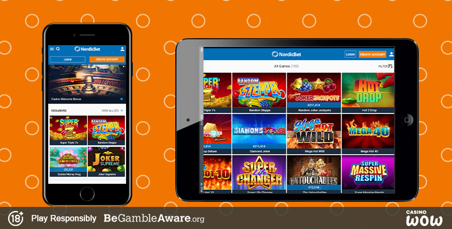 NordicBet Mobile Casino