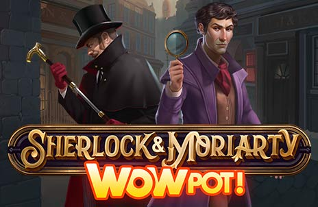 Play Sherlock and Moriarty WowPot online slot game