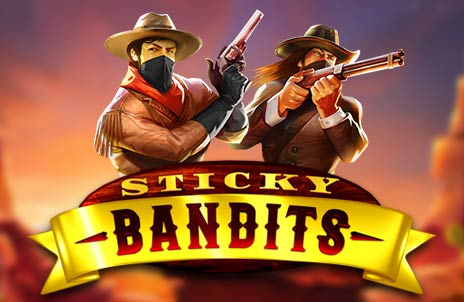 Play Sticky Bandits online slot game