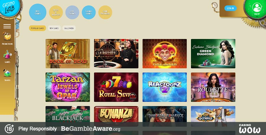 Casino Lab Games