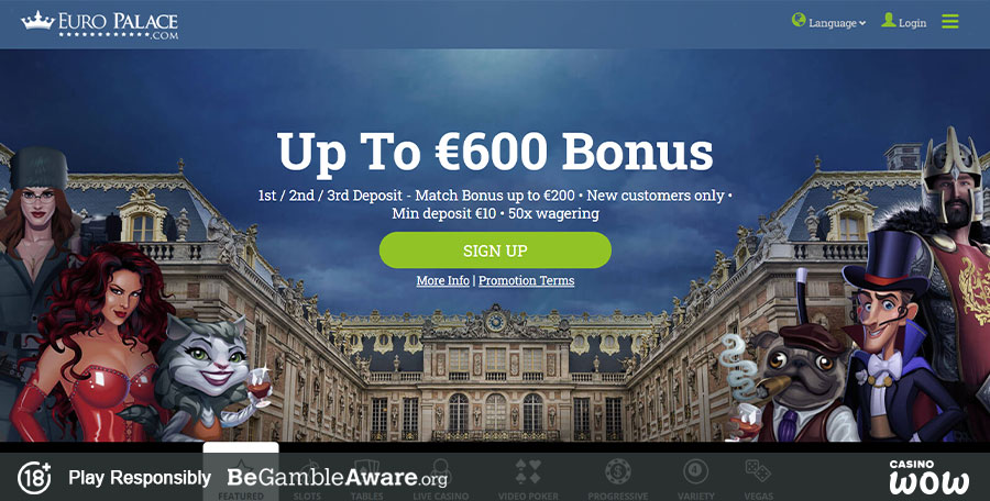 Euro Palace Online Casino Download