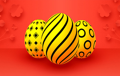 Grab a daily Easter egg and unlock rewards with the promotion from Rizk Casino!