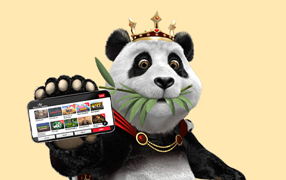 A new mobile-first site by Royal Panda Casino!